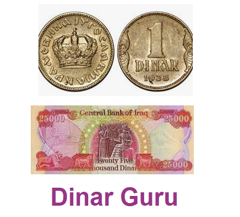 Iraqi Dinar Guru For Latest Dinar Updates