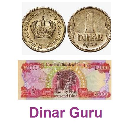 Iraqi Dinar Guru For Latest Dinar Updates